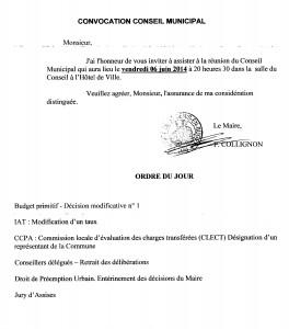 Conseil Municipal 06_06_2014